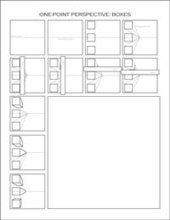 One-point perspective worksheets | Dawn\'s Brain...