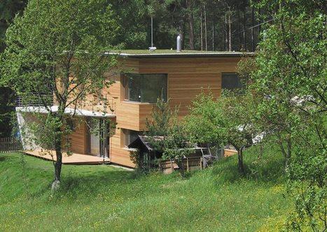 Isolation thermique en fibre de bois des toitures plates.   Ageka les matériaux pour la construction bois.   Scoop.it