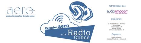 Ya se puede optar para los Primeros Premios AERO a la Radio Online organizados por AERO y Actuonda | Radio 2.0 (Esp) | Scoop.it