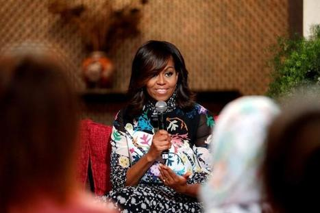 Michelle Obama, daughters and mom promote girls' education in Morocco | FTN Mediterranean Agriculture & Fisheries | Scoop.it