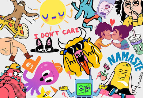 How Stickers Are Helping Humanize Chat Apps | I+D Comunicación & Network Thinking | Scoop.it