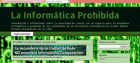 [PQS] Para que sepan: España: reclaman que Informática sea una asignatura troncal   (PQS) Para que sepan   Scoop.it