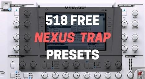 7 Free Trap Nexus VST Expansions Packs - 518 Tr