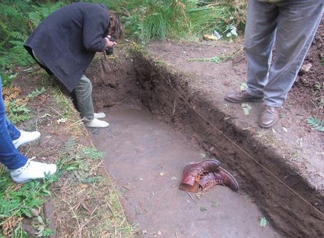 5,000 year old Prehistoric art panel re-excavated in Scotland | Histoire et Archéologie | Scoop.it