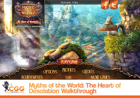Myths of the World: The Heart of Desolation Walkthrough: From CasualGameGuides.com | Casual Game Walkthroughs | Scoop.it