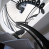 Escalier Design Mobilier Contemporain de style Art Nouveau