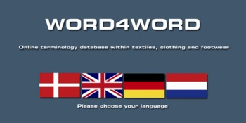 (DA) (DE) (NL) (EN) - Online database for the Fashion, Textile & Footwear industries | WORD4WORD | Glossarissimo! | Scoop.it