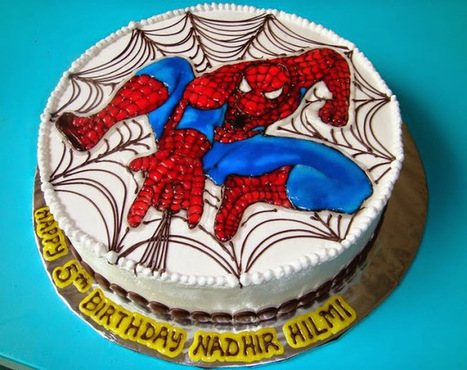 Sensational 50 Best Spiderman Birthday Cakes Ideas And Desi Funny Birthday Cards Online Inifofree Goldxyz
