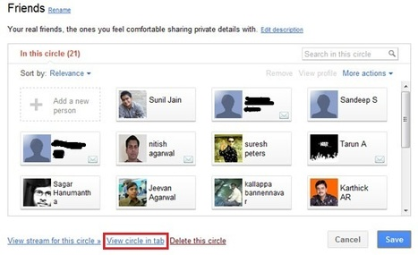 How to : Clone a Circle in Google+ | Tech18 | The Google+ Project | Scoop.it