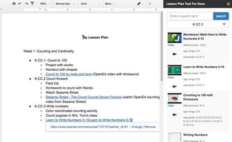http://resources.opened.com/lessonplantooldocs/ | Tech Cadre Corner | Scoop.it