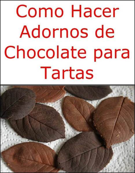 Como Hacer Adornos De Chocolate Para Tartas C - Adornos-tarta