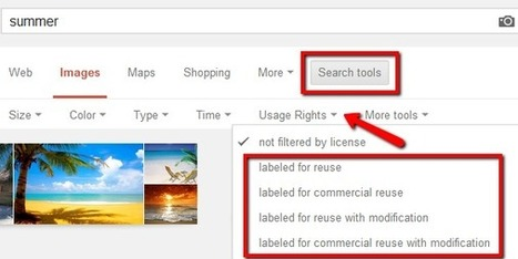 Google Search has finally added a simple way to search for images that have reuse rights! | Learning Leader | Scoop.it