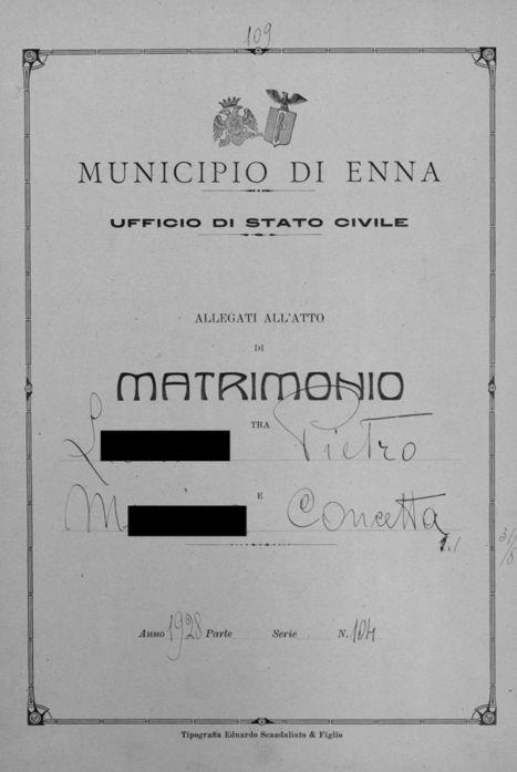 Généalogie en Italie | CGMA Généalogie | Scoop.it