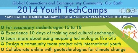 Youth TechCamps | Geography Education | Scoop.it