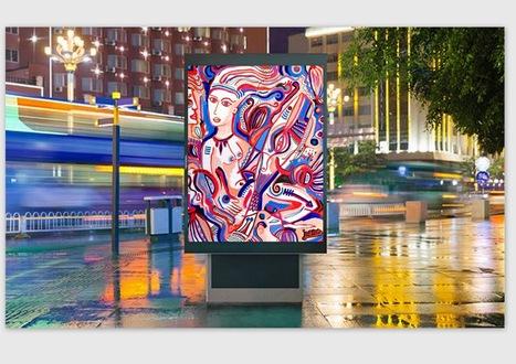 Et si l'art remplaçait la pub dans nos villes ? | Arts et FLE | Scoop.it