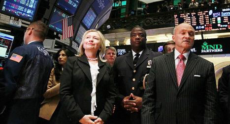Wall Street Republicans' dark secret: Hillary Clinton 2016 | It Comes Undone-Think About It | Scoop.it