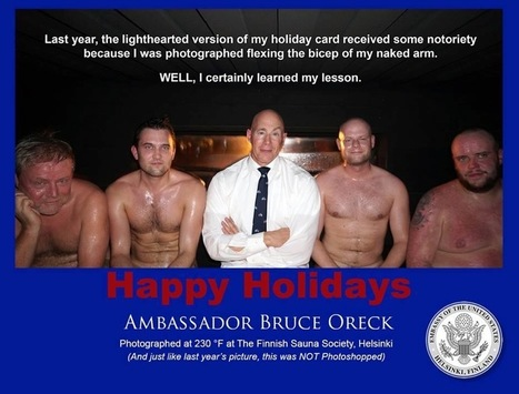 The US Ambassador To Finland Sent A Great Holiday Card | Finland | Scoop.it