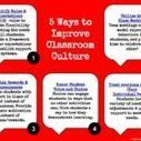 5 Ways to Improve Classroom Culture via 4 O'clock Faculty | ESOL Mix | Scoop.it