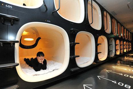 """Nine hours : Un hotel capsule insolite à Kyoto qui vous laisse 9 heures top chrono !   """"World Travel"""" info 世界旅行の情報   Scoop.it"""
