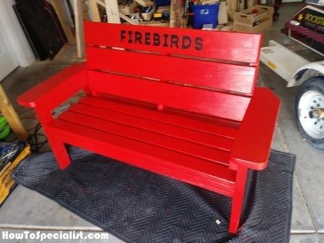Outstanding 2X4 Outdoor Bench From Wood Diy Project How Uwap Interior Chair Design Uwaporg
