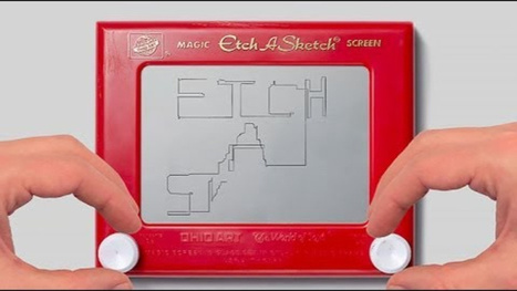 Watch This Etch A Sketch Tell the Story of Its Inventor | Family Learning | Scoop.it