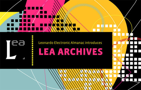 Leonardo Electronic Almanac / Volume 5, No. 10 / October 1997 | Art, Technology, Innovation | Scoop.it