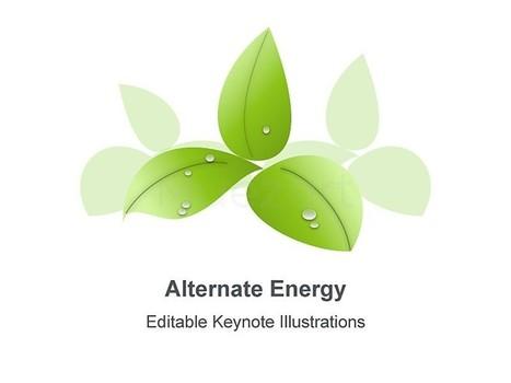 Alternate Energy Template for Keynote Presentations | Apple Keynote Slides For Sale | Scoop.it