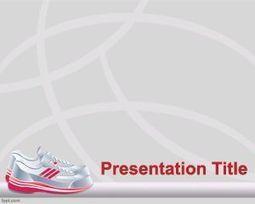Free sport shoes powerpoint template free po free sport shoes powerpoint template free powerpoint templates scoop toneelgroepblik Images