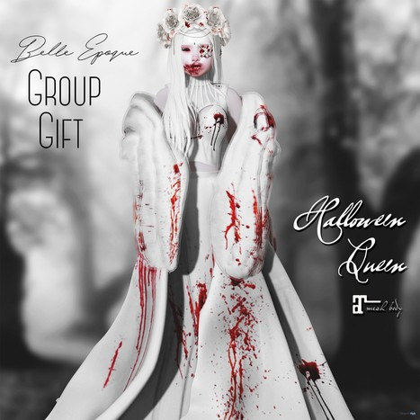 1f3423d302 Halloween Queen Outfit September 2018 Group Gift by Belle Epoque