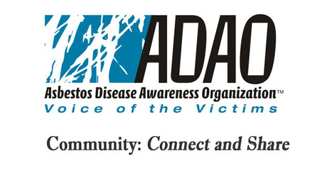 Asbestos Disease Awareness Organization: Connect and Share - How can you join the ADAO Community? | Asbestos and Mesothelioma World News | Scoop.it
