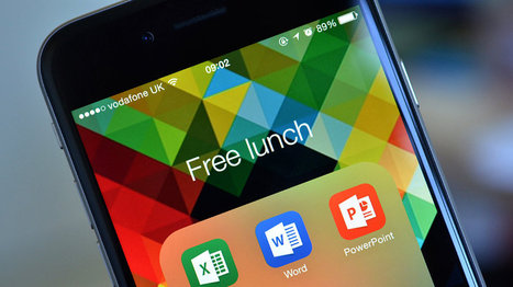 Microsoft's next surprise is free Office for iPad, iPhone, and Android - The Verge   Educational iPad apps   Scoop.it