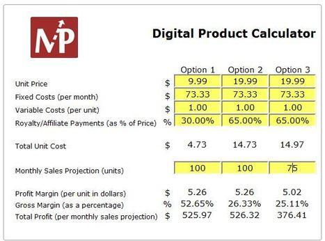 eBook Profit Margin Calculator | Solopreneur Success! | Scoop.it