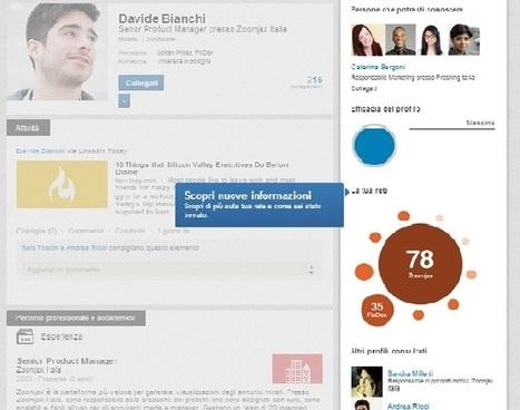 Scopri il nuovo profilo LinkedIn! - SocialMediaLife.it | Linkedin Marketing All News | Scoop.it