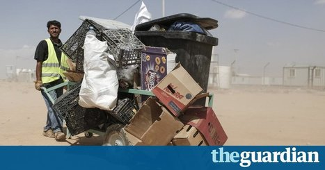 Broken glass and needles: the waste pickers scraping a living at Jordan's landfills | Global Recycling Movement | Scoop.it