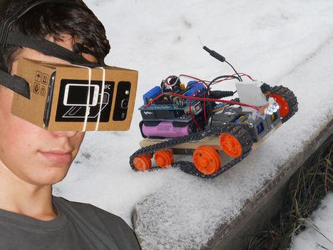 Controla un coche robot mediante Realidad Virtual y Arduino   REALIDAD AUMENTADA Y ENSEÑANZA 3.0 - AUGMENTED REALITY AND TEACHING 3.0   Scoop.it