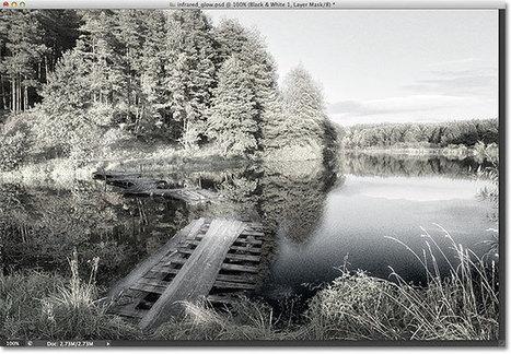 Non-Destructive Infrared Glow Photo Effect In Photoshop - Photoshop Roadmap | Photoshop Photo Effects Journal | Scoop.it