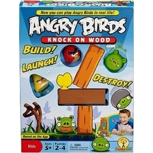 Angry Bird Knock on Woods | Technical & Social News | Scoop.it