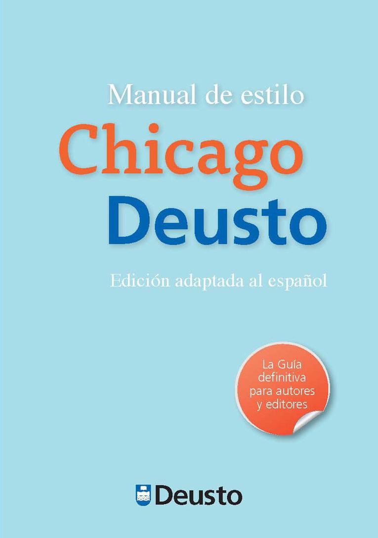 Manual de estilo Chicago-Deusto | Educacion, ec...