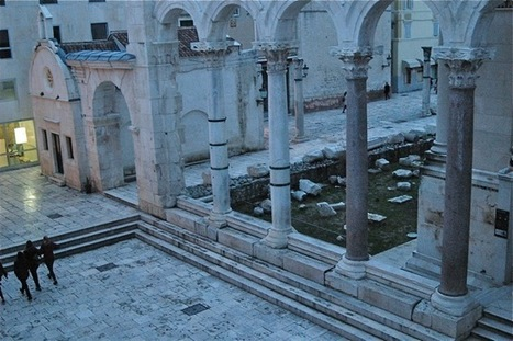 Eco Hvar - Diocletian's Palace, A New look   Teaching history and archaeology to kids   Scoop.it