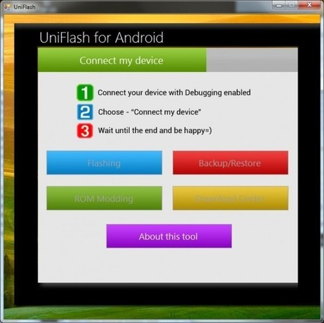 uniflash pour android