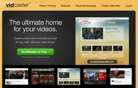 Vidcaster Online Video Platform Video Site Creator