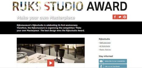 Pour célèbrer son 1er anniversaire, le Rijksstudio organise le concours «Faites votre propre chef-d'œuvre» | Réinventer les musées | Scoop.it