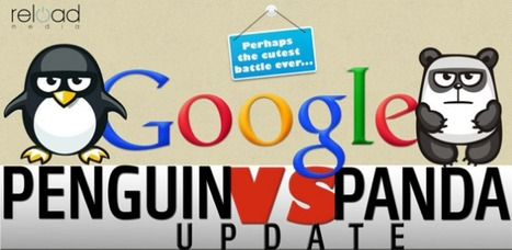 Infographic: Google Penguin vs. Panda | Marketing Revolution | Scoop.it