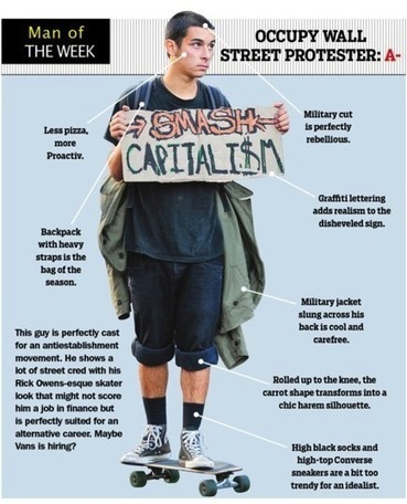 Critiquing The Fashion Of Occupy Wall Street | Disinformation | #OWS | Scoop.it