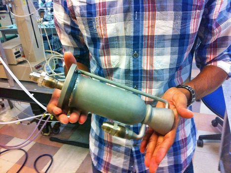UCSD Students test a DMLS manufactured  rocket engine, their own design | Additive Manufacturing News | Scoop.it