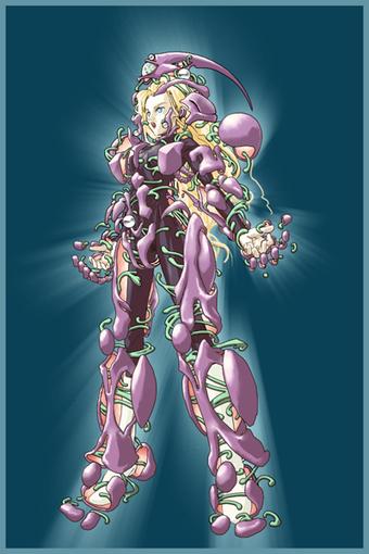 Female Guyver 2 transformation.   Guyver   Sco...