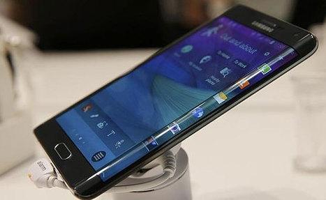Samsung pondrá pantallas de tres caras en el Galaxy S6   Techno World   Scoop.it