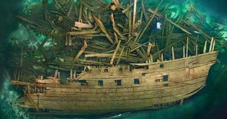 The Well-Preserved Wreck of the Formidable Warship Mars | Nereides Diary | Scoop.it
