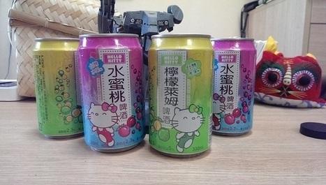 Hello Kitty, des bières qui se boivent comme du petit lait | Communication Agroalimentaire | Scoop.it