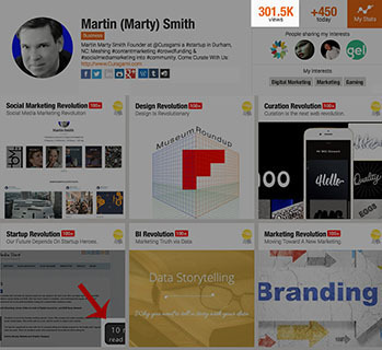 """Scoopit """"Revolution"""" Feeds Over 300,000 Views - Thank You! 